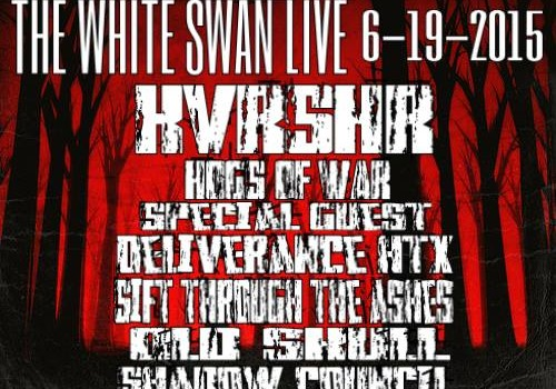 Friday June 19th. The white swan live