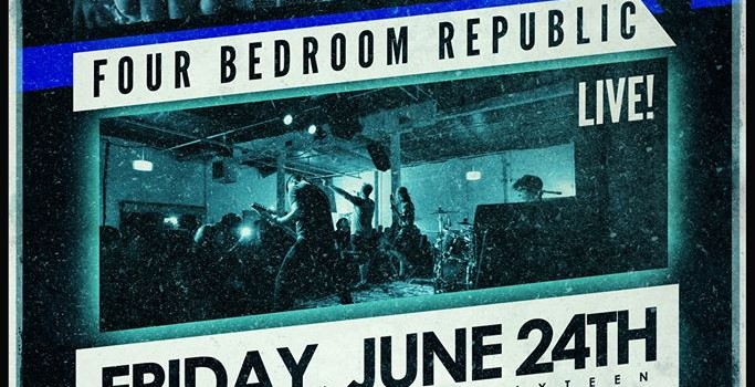 Four Bedroom Republic + special guests FREE ENTRY  Friday, June 24th @ White Swan Live Doors: 6:30pm Show: 7:00pm  Four Bedroom Republic 10:45 - end In One Breath 10:00 - 10:30 Opportunist 9:15 - 9:45 Forever Starts Today 8:30 - 9:00 Four Letter Language 7:45 - 8:15 Imperial Afflictionon 7:00 - 7:30  Come out and throw down! This lineup is stacked with some amazing bands. Oh, and In One Breath is in charge of bringing pizza so keep that in mind ;)