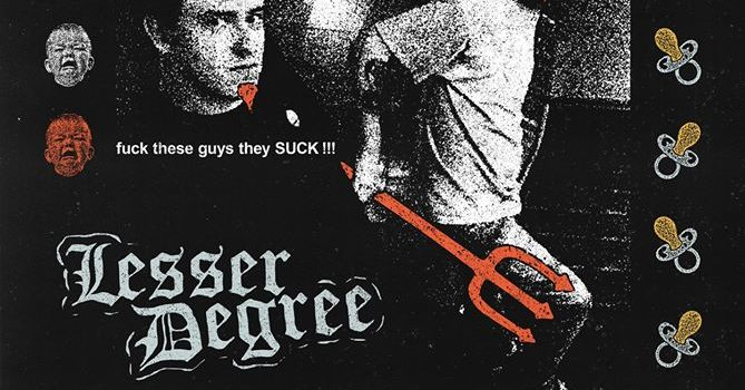 You didn't ask for it but we did it anyways  LESSER DEGREE 10:35-end lesserdegreetx.bandcamp.com  CHOKE CHAIN 10:00-10:20 chokechaintx.bandcamp.com  EARTH DOWN (CA) 9:25-9:45 earthdownhc.bandcamp.com  DAGGERS (MS) 8:50-9:10 daggersms.bandcamp.com  WICKED WORLD (WI) 8:15-8:35 wickedworldwi.bandcamp.com  GRUDGE 7:40-8:00 grudgetx.bandcamp.com  DEITY 7:05-7:25 deitytx.bandcamp.com  BITTER TASTE 6:30-6:50