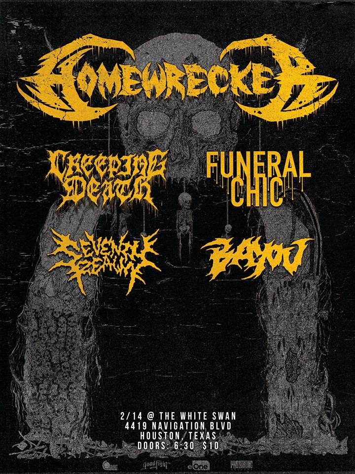 Homewrecker, Creeping Death, and Funeral Chic at The White Swan